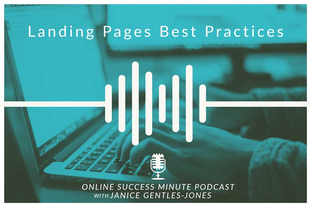 OSM #5: Landing Pages Best Practices