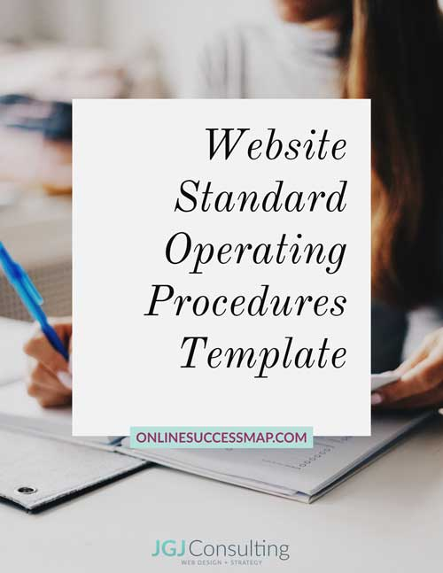 Website Standard Operating Procedures
