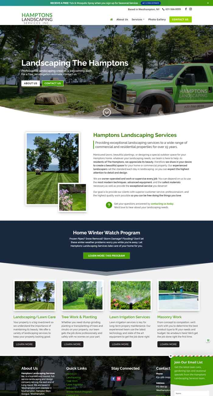 Hamptons Landscaping Services